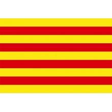 Bandera de Cataluña 150x90cm.