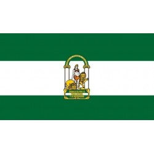 Bandera de Andalucía 150x90cm.
