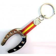 Llavero herradura caballo España. Modelo 395