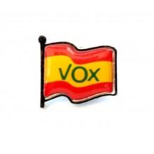 Pin VOX España Orgulloso de ser Español. Modelo 092-B