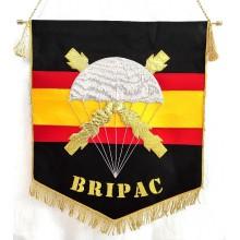 Estandarte BRIPAC bordado a mano lujo tamaño grande