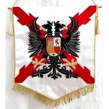 Estandarte Tercios Españoles bordado a mano lujo tamaño grande