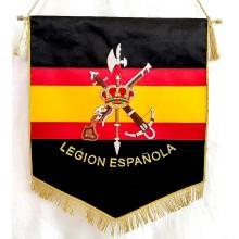 Estandarte Legión Española bordado a mano lujo tamaño grande