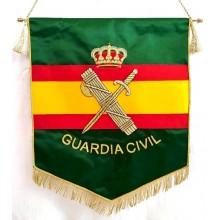 Estandarte Guardia Civil bordado a mano lujo tamaño grande