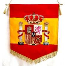 Estandarte España bordado a mano lujo tamaño grande