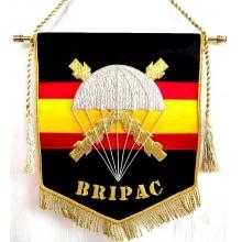 Estandarte BRIPAC bordado a mano lujo tamaño pequeño