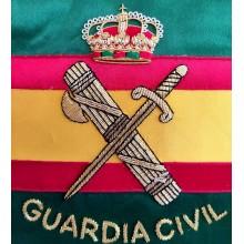 Estandarte Guardia Civil bordado a mano lujo tamaño pequeño