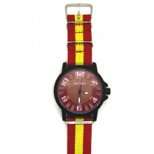 Reloj bandera España. Modelo 207