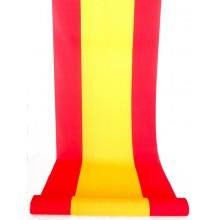 Tela por metros bandera España 90cm raso brillo
