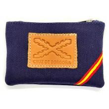 Monedero bandera España Cruz de Borgoña. Modelo 530