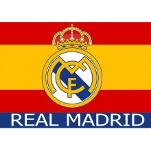Bandera España Real Madrid