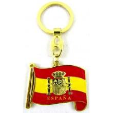Llavero bandera España. Modelo 522