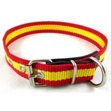 Collar perro bandera España