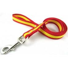 Correa de perro bandera España. Modelo 01