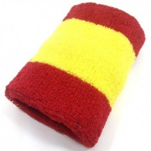 Muñequera bandera España. Modelo 02