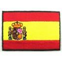 Collar perro 33cm bandera España