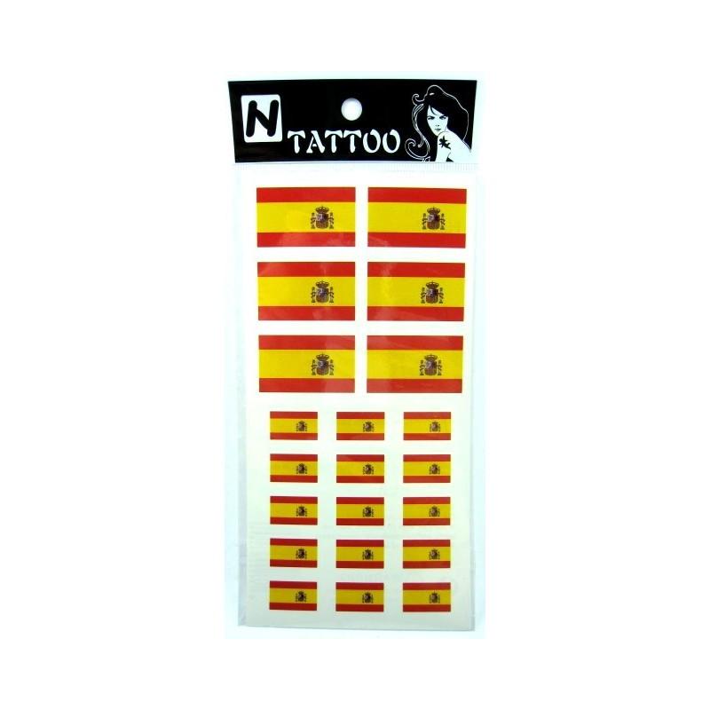 Mochila bandera España trazos. Modelo 05
