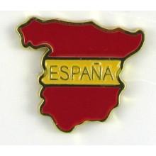 Pin bandera España. Modelo 74