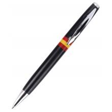 Bolígrafo bandera España. Moldelo 09 negro