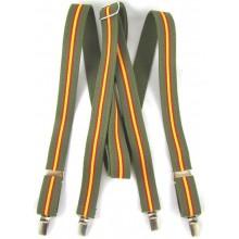 Tirantes bandera España verde kaki. Modelo AC2