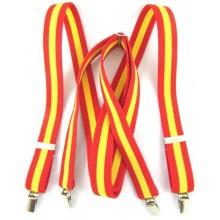 Tirantes bandera España. Modelo AC4