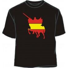 Camiseta paella bandera España