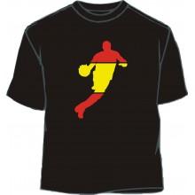 Camiseta baloncesto 2 bandera España