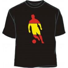 Camiseta fútbol bandera España
