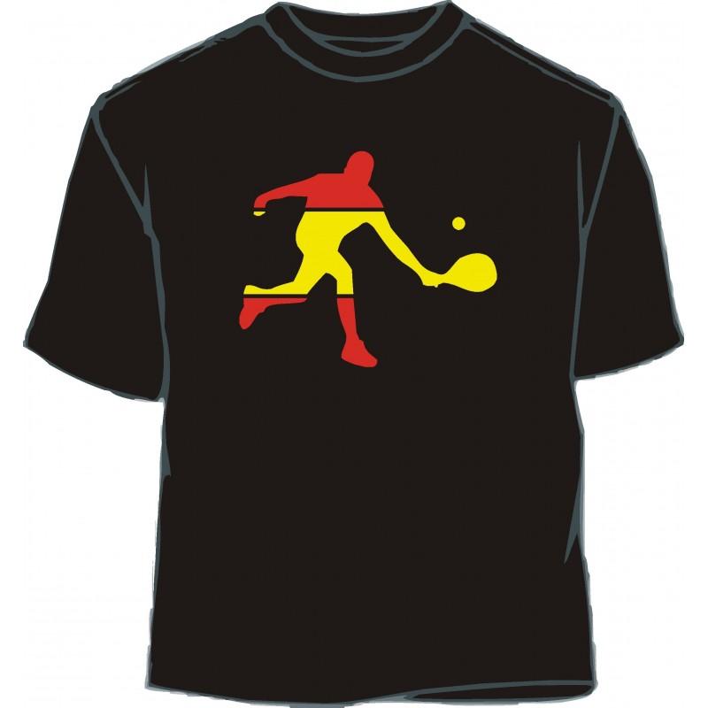 Camiseta caballo 3 bandera España