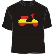 Camiseta moto bandera España