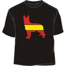 Camiseta padel bandera España
