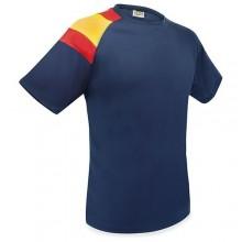 Camiseta técnica bandera España marino. Modelo 501