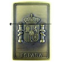 Encendedor gasolina Escudo España. Modelo 17