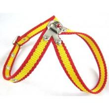 Arnés perro pequeño bandera España