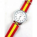 Relojes y correas con la bandera de España. La Tienda de España