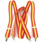 Tirantes con la bandera de España. La Tienda de España
